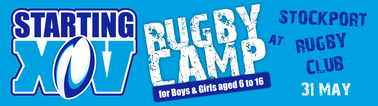 Stockport Rugby Club May Rugby Camp - Starting XV
